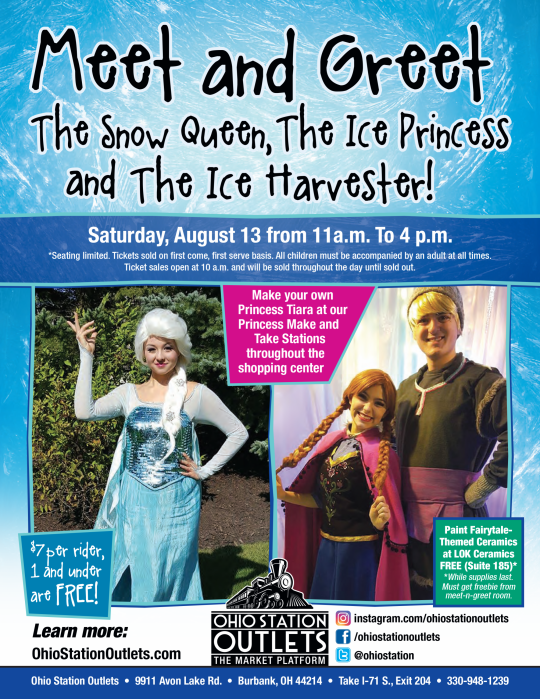 Meet and greet the snow queen the ice princess and the ice meet and greet the snow queen the ice princess and the ice harvester ohio station outlets m4hsunfo