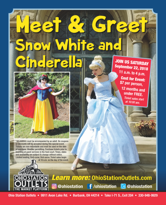Meet greet snow white and cinderella ohio station outlets m4hsunfo